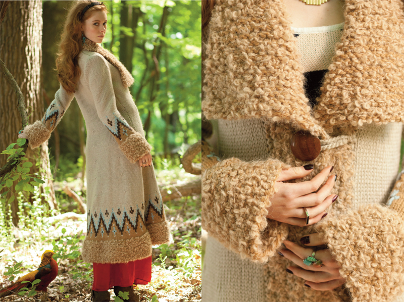 Knitting Vogue 2014 : Vogue knitting fall duster coat white lies knits
