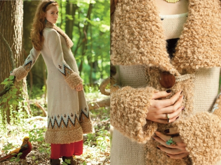 Boho Coat-Joan McGowan-Michael
